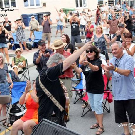 Mike festival au rythme du Blues Donnacona