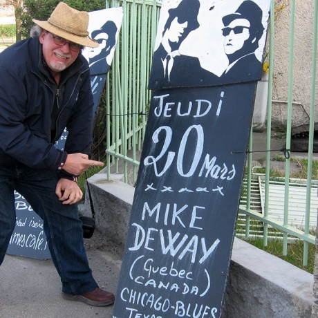 Mike DeWay en France