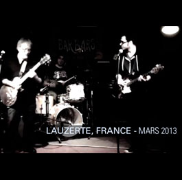 Mike DeWay Trio, – So Many Roads. (Lauzerte, FRANCE) Mars 2013