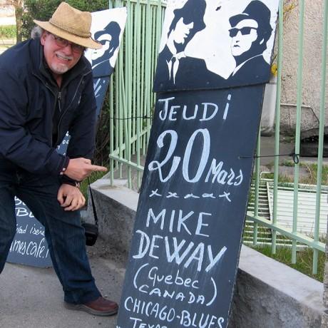 Mike DeWay en France