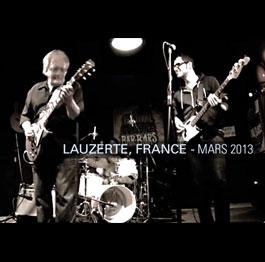 Mike DeWay Trio – Blues en dessous de Zéro. (Lauzerte, FRANCE) Mars 2013